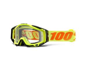 RACECRAFT - Attack Yellow, Clear Lens