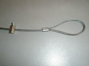 Sikkerheds wire
